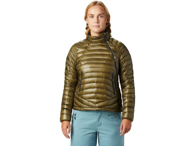 Mountain Hardwear Ghost Whisperer S Jacke Damen combat green